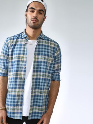 AMON Multi Check Casual Shirt