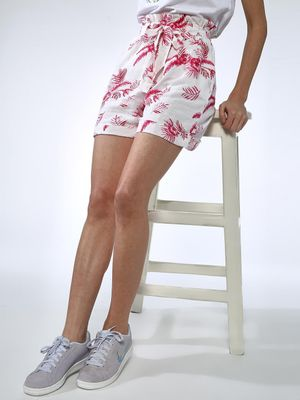 Oxolloxo Floral Tie-Knot Shorts