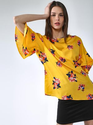 Oxolloxo Floral Printed Tops