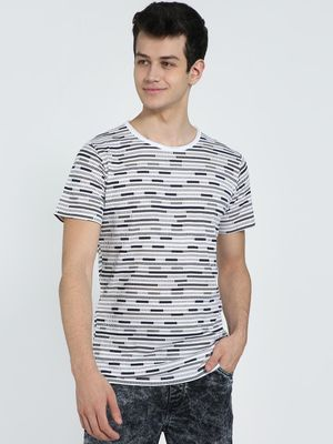 AMON All Over Abstract Print T-Shirt