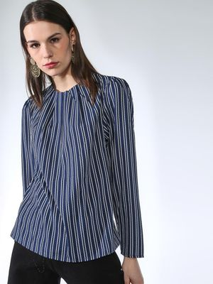Oxolloxo Stripe Printed Top