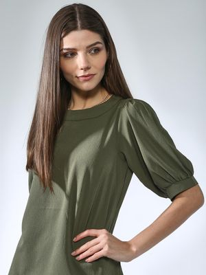 Oxolloxo Basic Round Neck Top
