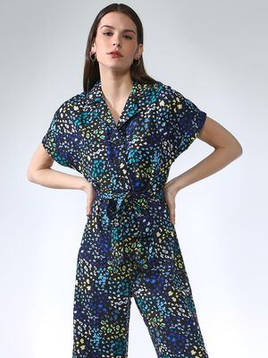 Oxolloxo Floral Printed Jumpsuit