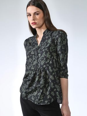 Oxolloxo Floral Forest Regular Top