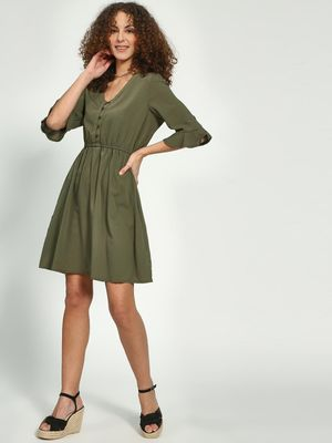 Oxolloxo Tie-Knot Skater Dress