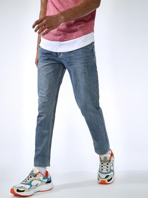 REALM Distressed Slim Fit Jeans