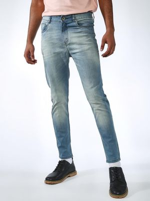 REALM Light Wash Skinny Jeans