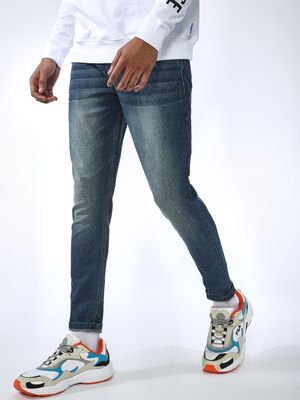 REALM Distressed Light-Wash Jeans