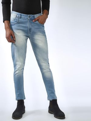 REALM Light-Wash Slim Fit Jeans