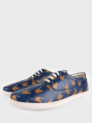 KOOVS Tea Glass Print Sneakers