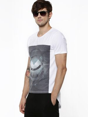 Nikhil Chinapa For KOOVS Geometric Placement Print T-Shirt