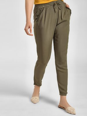 LC Waikiki Tassel Pocket Drawcord Trousers
