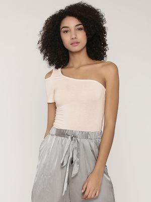 KOOVS One Shoulder Top
