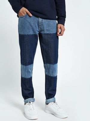 CHELSEA KING Colour Block Washed Slim Jeans