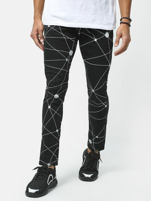 Kultprit All Over Printed Denim Jeans