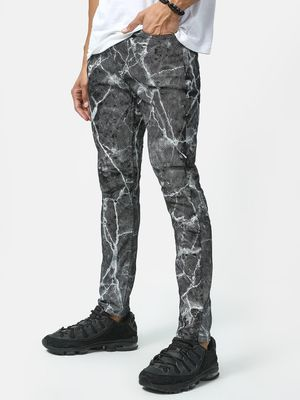 Kultprit Basic Acid-Wash Denim Jeans