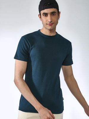 KOOVS Crew Neck Muscle Fit T-shirt