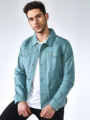 Blue Saint Twin Pockets Casual Jacket