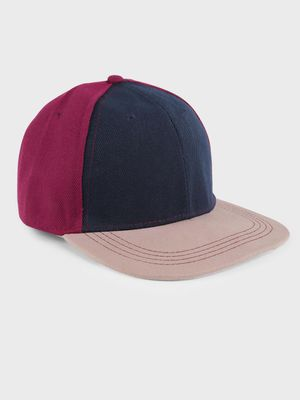 Fuzoku Color Block Baseball Cap