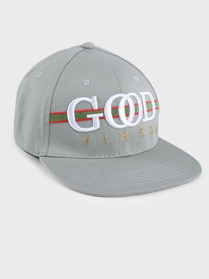 Fuzoku Embroidered Good Vibes Cap