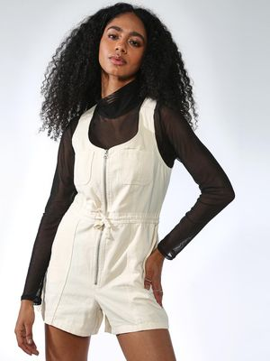 KOOVS Basic Regular Fit Playsuits