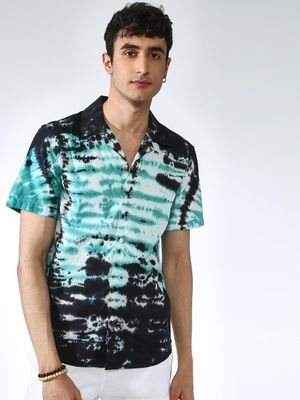 KOOVS Tie-Dye Short Sleeves T-shirt