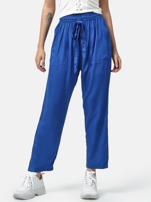 Oxolloxo Tie-Knot Utility Palazzo Pants