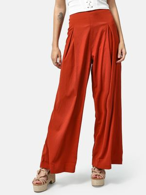 Oxolloxo Solid Wide-leg Pants