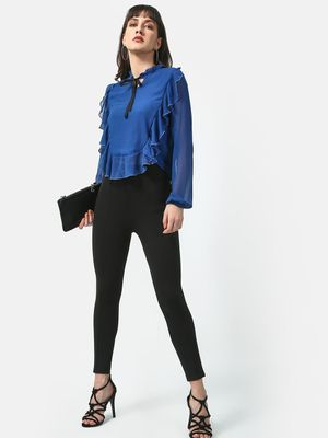 Oxolloxo Fancy Frill Casual Top
