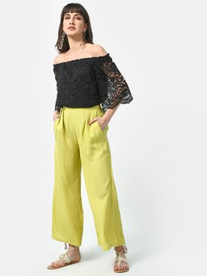 Oxolloxo Off Shoulder Casual Top