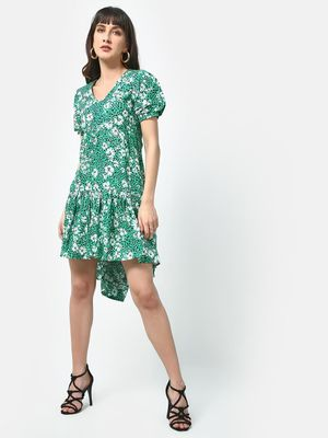 Oxolloxo Floral Sia Midi Dress