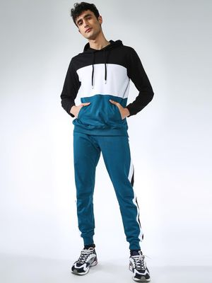 KOOVS Side Tape Color-Block Tracksuit