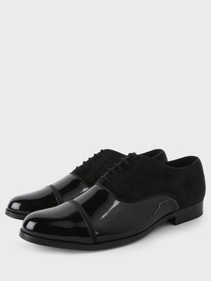 Griffin Cut & Sew Patent Oxford Shoes