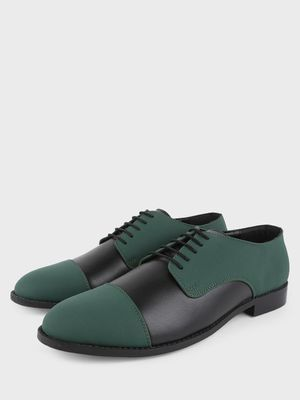Griffin Contrast Derby Shoes