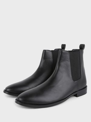 Griffin Elasticated Sides Chelsea Boots