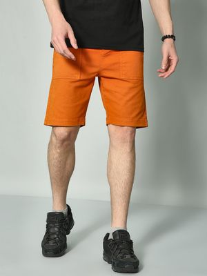 KOOVS Slim Fit Casual Shorts