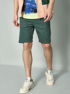 KOOVS Basic Casual Slim Fit Shorts
