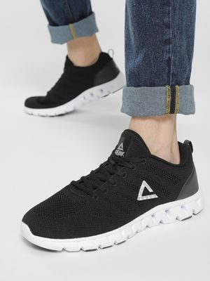 Peak Knitted Logo Running Shoes