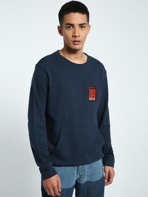 CHELSEA KING Crew Pass Patch Sweatshirt