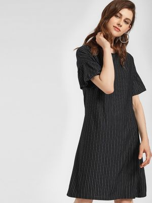 LC Waikiki Pinstripe Shift Dress