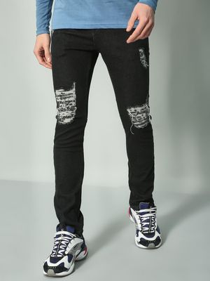 Blue Saint Distressed Slim Jeans