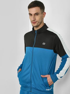 ONE/ZERO BY KOOVS Color Block Track Jacket