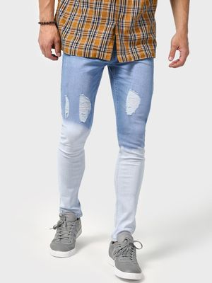 IMPACKT Tie-Dye Distressed Denim Jeans