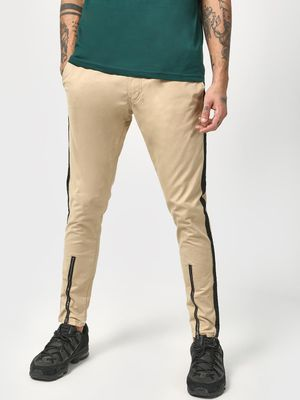Kultprit Side Tape Drawcord Slim Trousers