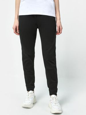 Cation Solid Contrast Stripe Trousers