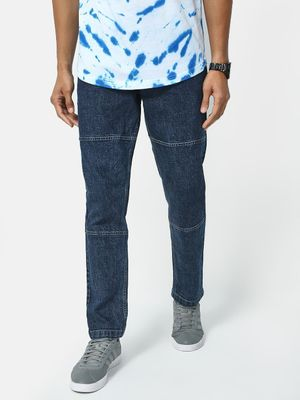 REALM Panel Mid Wash Stretchable Jeans