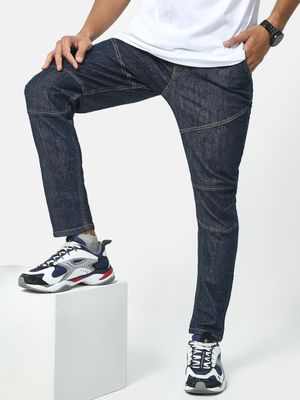 REALM Panel Tapered Fit Jeans