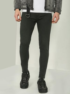 REALM Basic Mid Rise Skinny Fit Jeans
