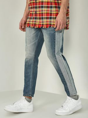 REALM Side Panel Slim Fit Jeans