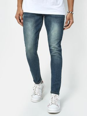 REALM Mid Wash Distressed Jeans